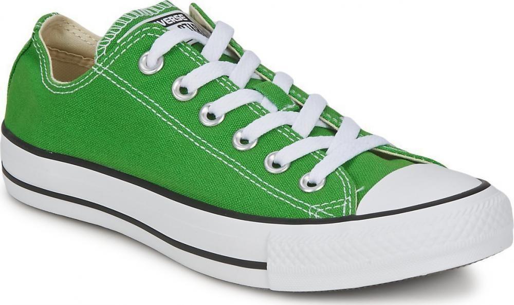 2960748873f1 Converse All Star Chuck Taylor OX LO men s jungle green canvas trainers  pumps