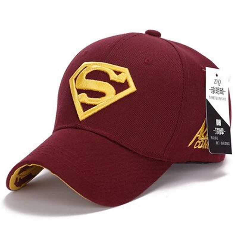 New Hot Sale Superman Mens Baseball Caps Brand Snapback Women Golf Hats For  Men bone aba 16bf154ec89d