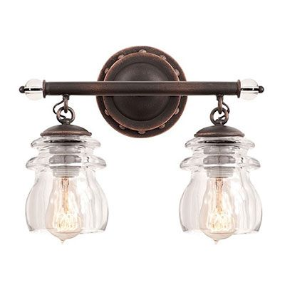Photo of Kalco Lighting Brierfield 2 Vanity Vanity – Rustic Lighting & Fans