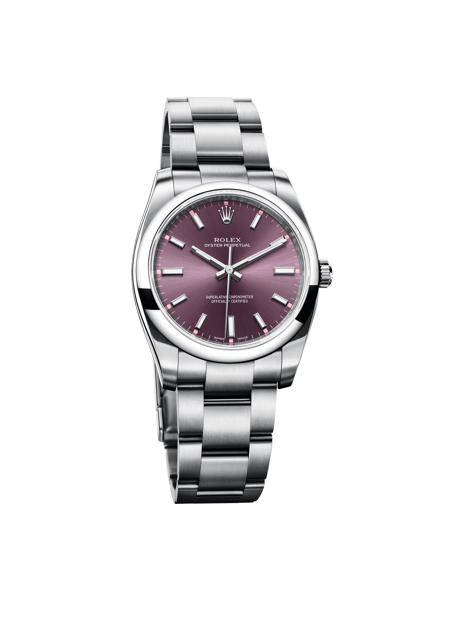 Oyster Perpetual 34mm Steel Rolex watches women, Rolex