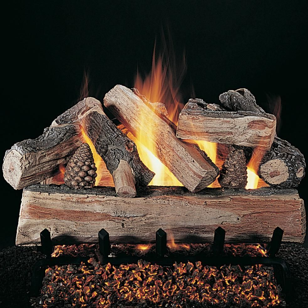 Rasmussen 30 Inch Crossfire Gas Log Set With Vented Propane