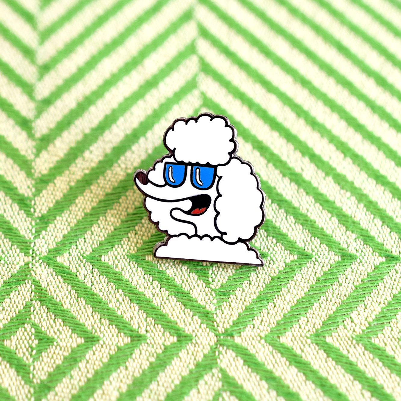 The Epitome Of French Fashion, A Poodle In Sunglasses