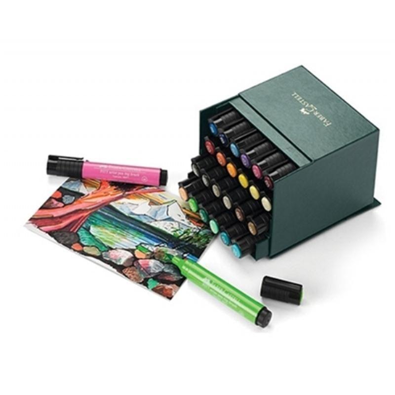 faber castell pitt 'big brush' artists pens 24 pack
