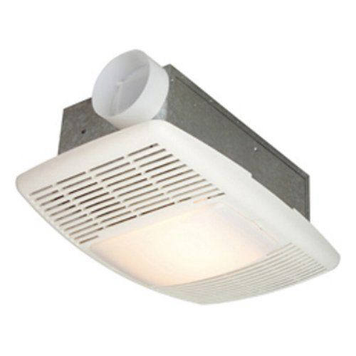 NuTone 9093WH Deluxe Heat-A-Ventlite Heater with Ventilator and Incandescent Ceiling Light 70 CFM 1500-Watt White