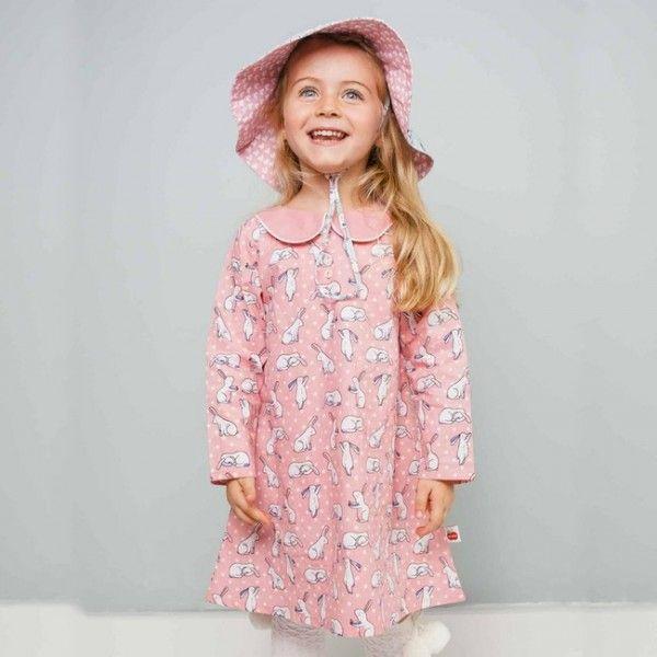 #EmilyBlushBunBunDress By #Oobi. A little smock dress can get you everywhere. Visit @ https://goo.gl/KmdBQD #Dress #Australia #girlswear #onepiece