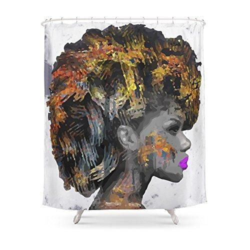 Pin By Carlyon Price On Black Women Art Girls Shower Curtain