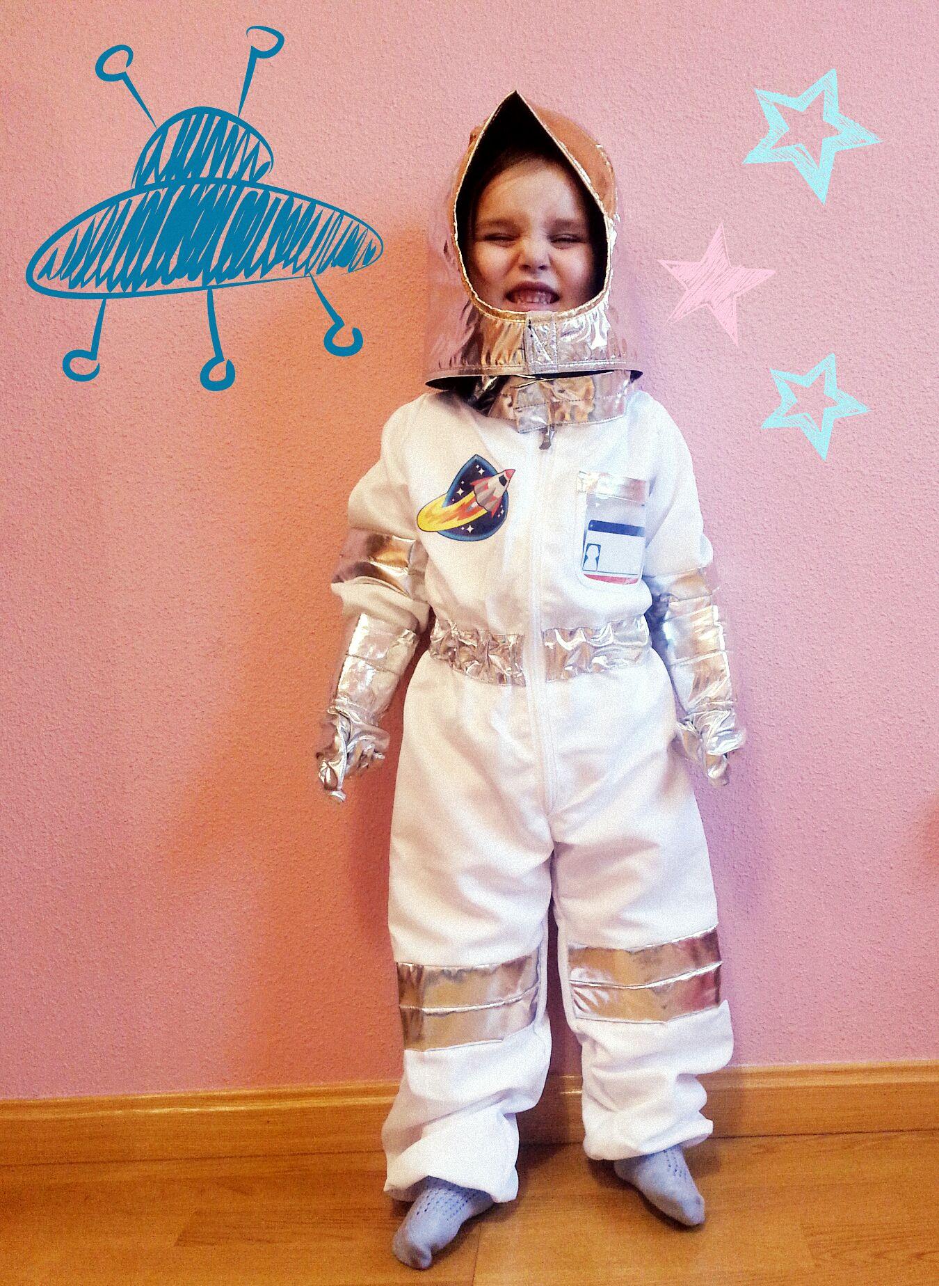 disfraz astronauta ni os de pinterest