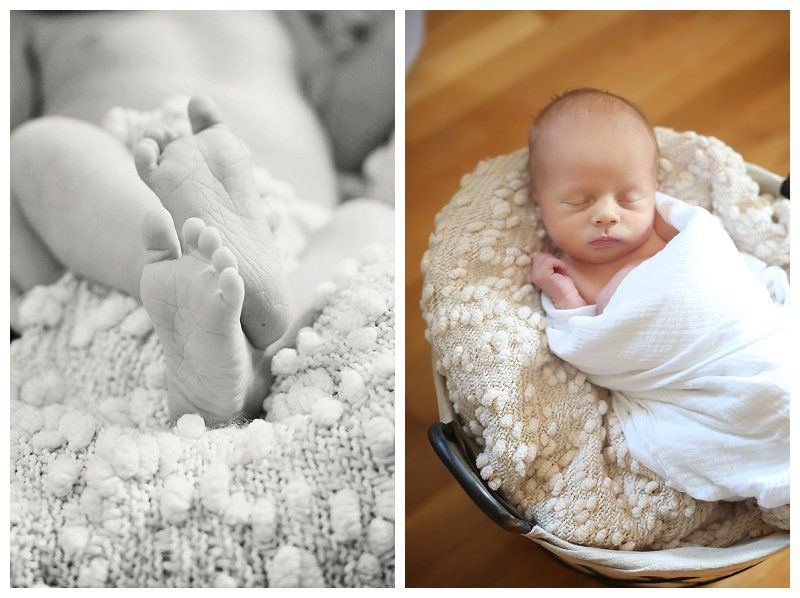 Baby bowens in home lifestyle session captured by baltimore newborn photographer sarah michele photography