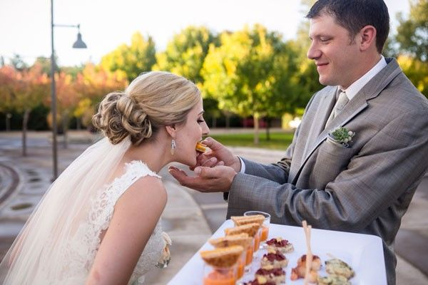 So sweet. | See more of this lovely #wedding here: http://www.mywedding.com/articles/aj-and-kelseys-lake-oswego-or-wedding-by-powers-photography-studios/