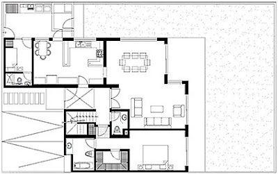 Planos de casas para 300 metros cuadrados planos de for Diseno de casa de 300 metros cuadrados