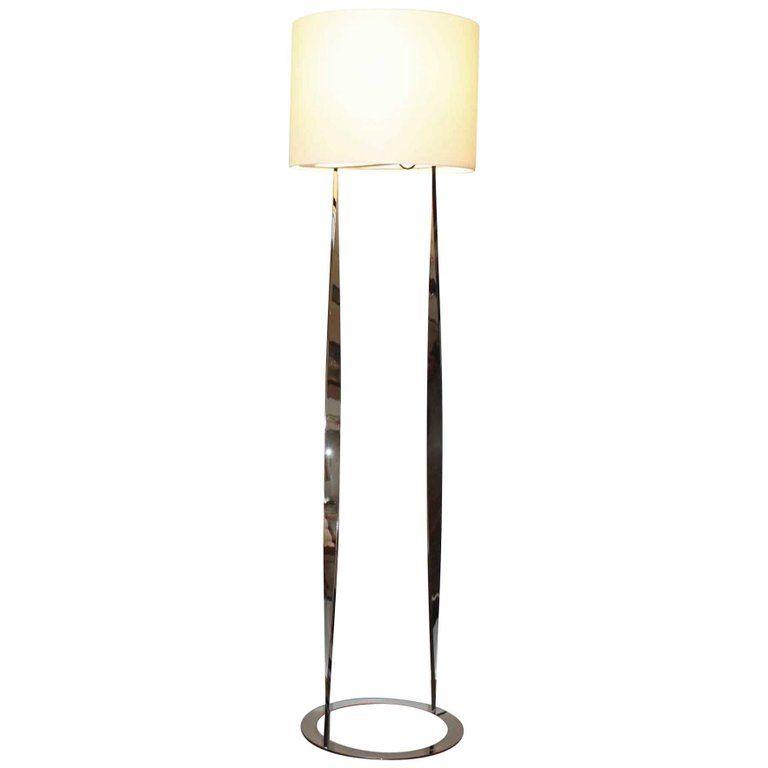 Floor lamp spiga by italian luxury living group label trussardi casa