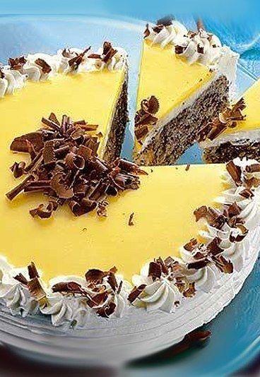 Herrliche Eierlikör-Schoko-Torte