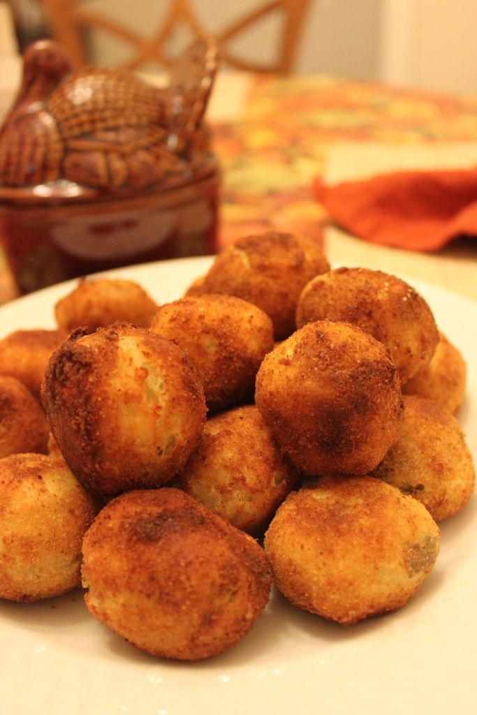 Potatoe Balls History Is Served Presented By Colonial