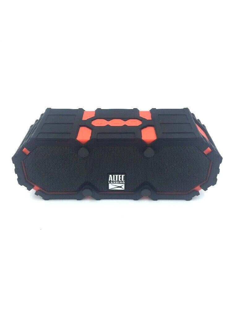 Altec Lansing Mini Life Jacket 2 Red Waterproof Bluetooth Speaker Imw477 Red Bluetooth Sp Waterproof Bluetooth Speaker Bluetooth Speakers Waterproof Speaker