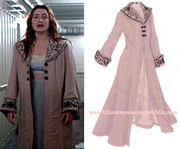The pink coat of Rose in Titanic another to do project =) and a ...