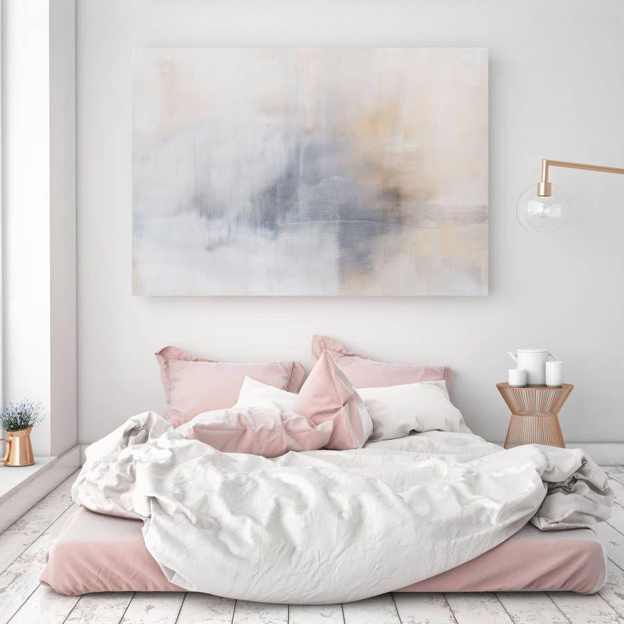 Calm mornings canvas art d e c o r e grey wall art seascape