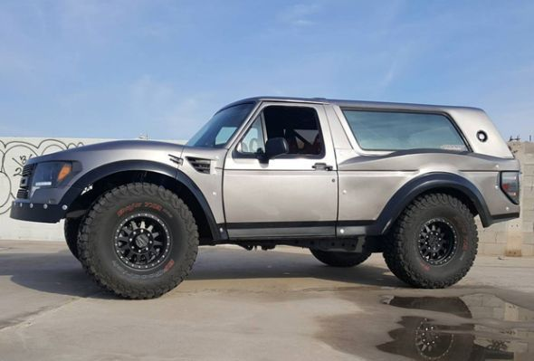 New Ford Bronco >> Custom Build Of New Ford Bronco Ford Bronco Ford Bronco Monster