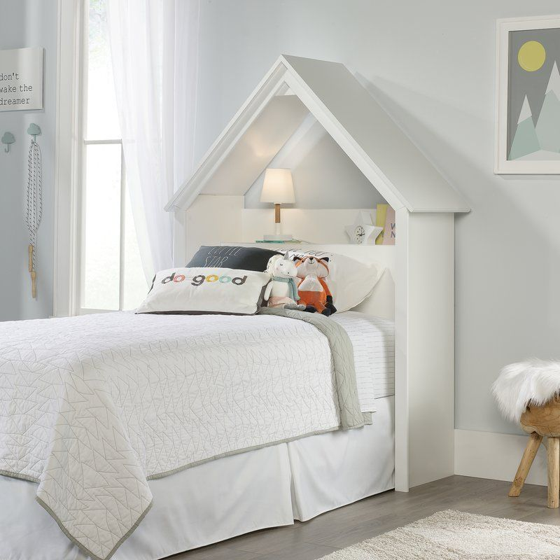 Quinby Playhouse Twin Bookcase Headboard