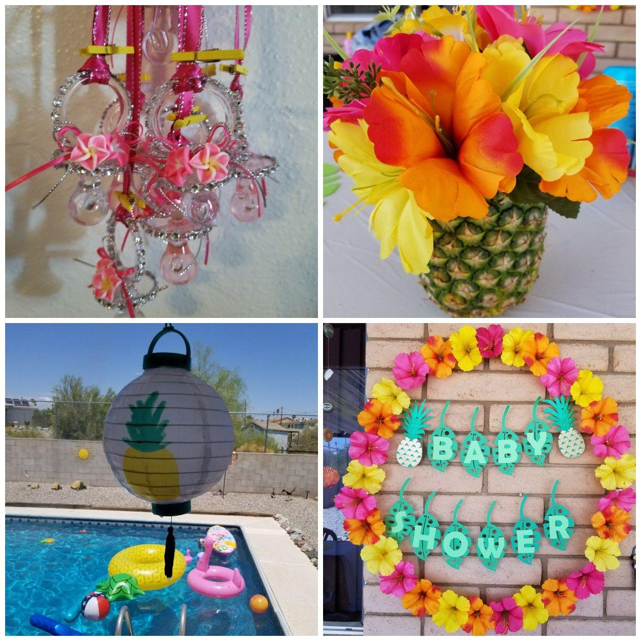 Luau Baby Shower   Hawaiian Baby Shower   Summer Baby Shower   Pool Party Baby  Shower