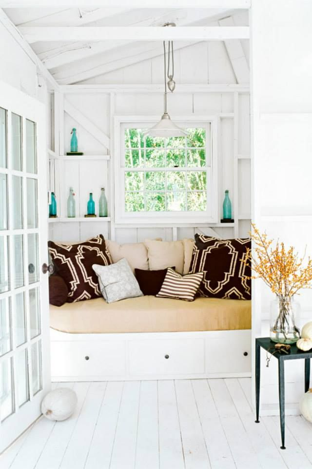 add some color though AROUND THE HOUSE Pinterest Window
