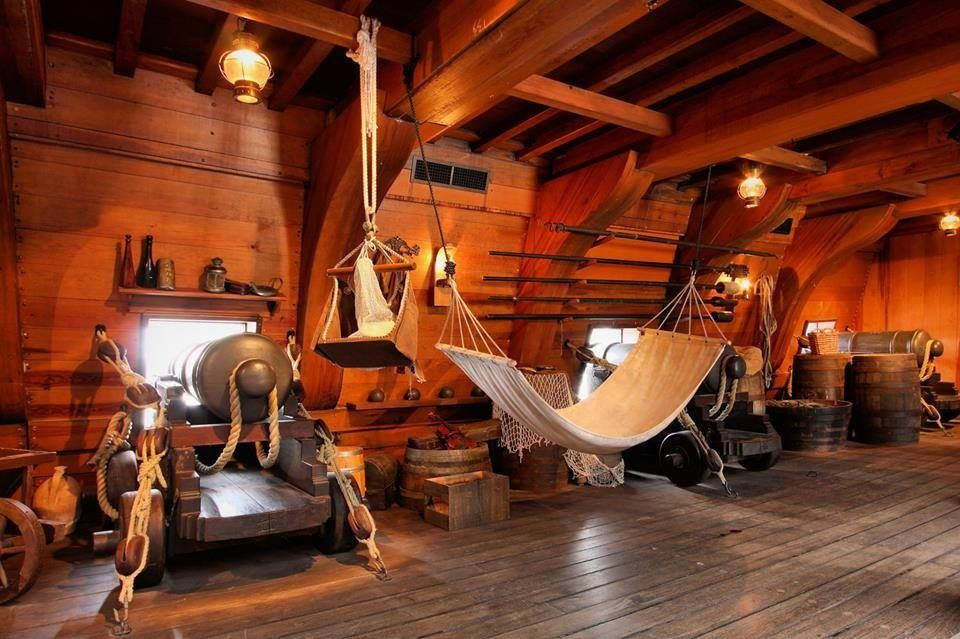 Inside A Galleon Pirate Ship Pinterest Ships