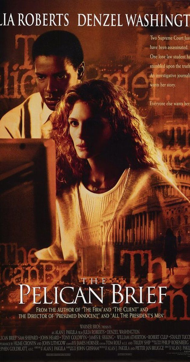 The Pelican Brief (1993) - IMDb Movie Posters I watched - presumed innocent movie