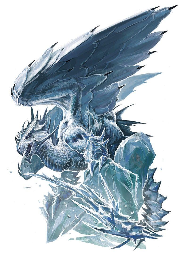 White Dragon - Pathfinder PFRPG DND D&D d20 fantasy | Pathfinder ...