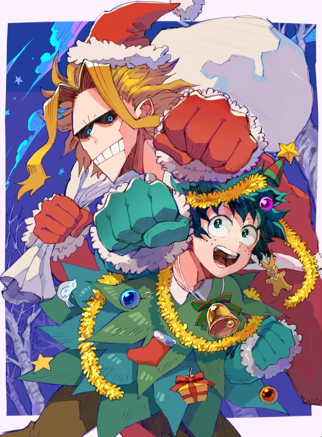 Anime Christmas Meme.Pin On My Hero Academia