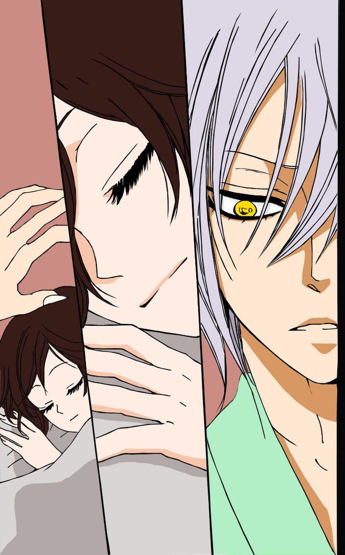 Otro coloreado de este lindo manga y ahora anime xD kamisama ...