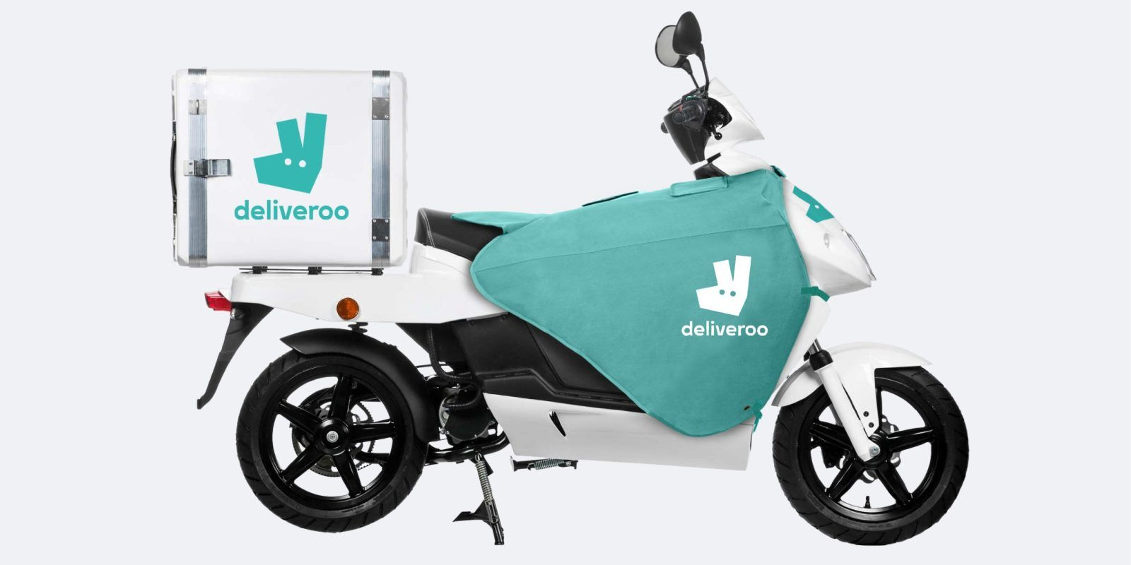 Deliveroo Is Now Renting Electric Mopeds To Delivery Riders By The