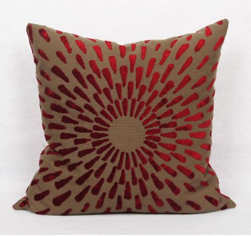 CROSSTITCH SNOWFLAKE PILLOW COVER Sale $49.99 (Was $99.99)
