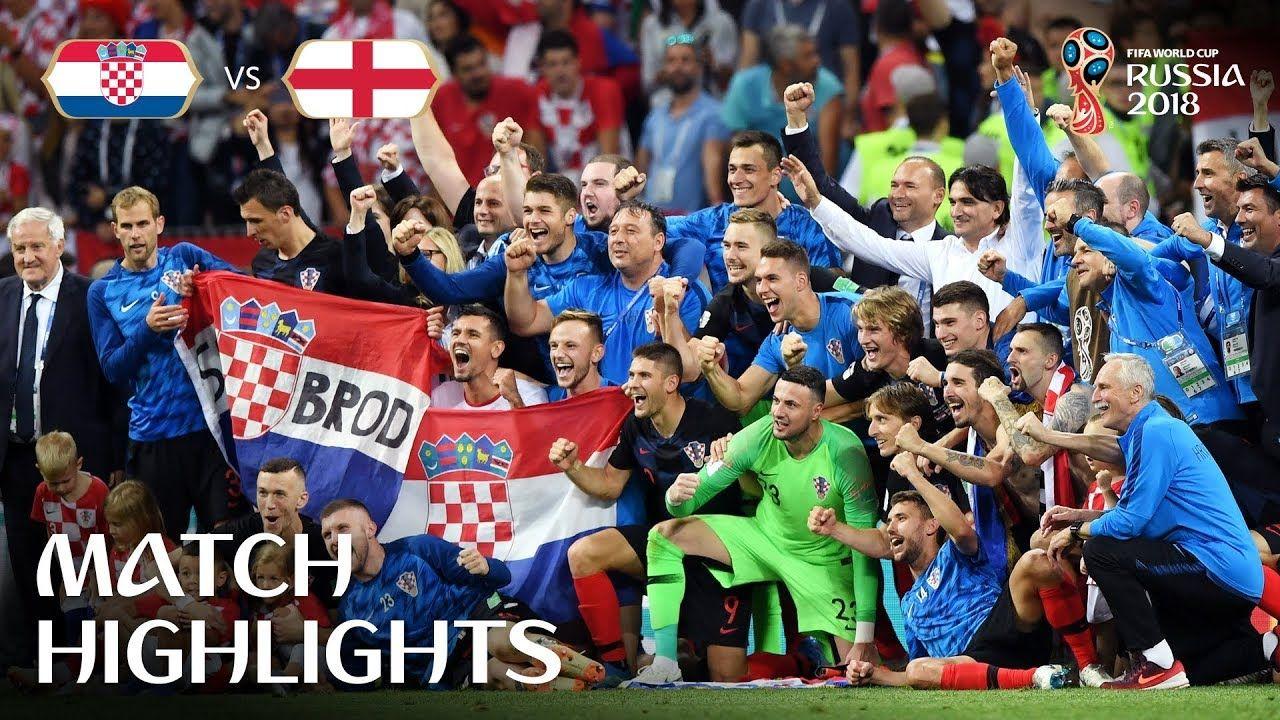 Croatia V England 2018 Fifa World Cup Russia Match 62 Croatia Soccer World Soccer World Cup 2018