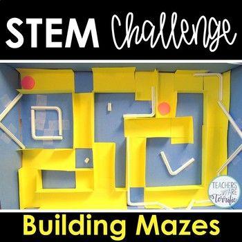 Stem Challenge Marble Maze Stem Challenges Stem Activities Challenges Stem Activities