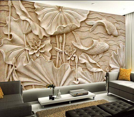 Pin Di Wall Stencilling