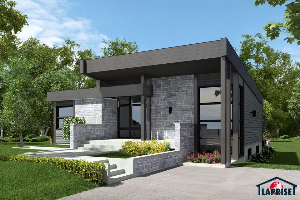 Designer zen contemporain lap0508 maison laprise maisons pr usin es dream house in - Maison prefab ...