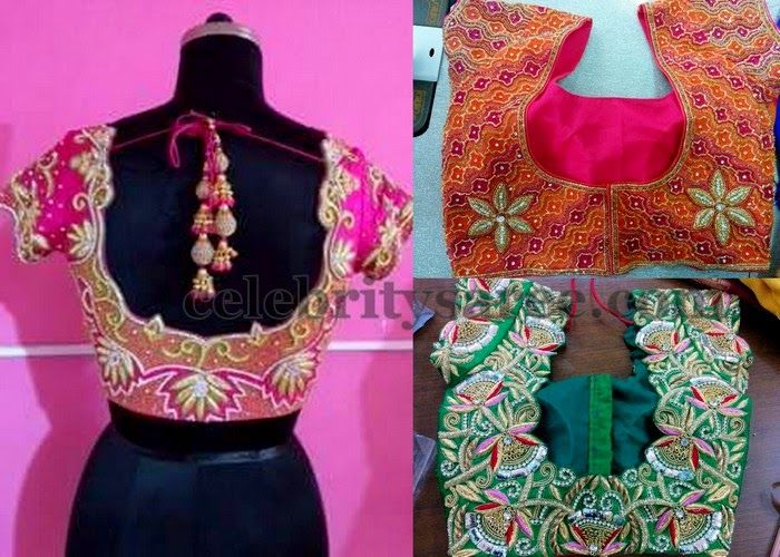 Best Designer Blouse Stitching In Coimbatore