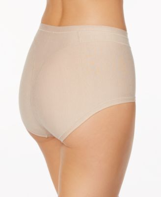 396203fccd Leonisa Women s Light Control High-Waist Panty in Cotton 01214A - Tan Beige  M