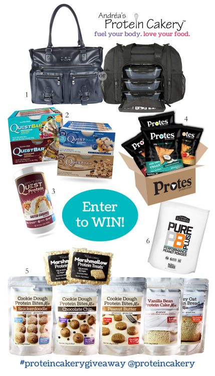 Win a HUGE Protein Goodie Package ARV $400 {US} (10/16/16