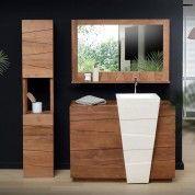 Icone Teak And Terrazzo Vanity Cabinet 100 In 2019 Bathroom