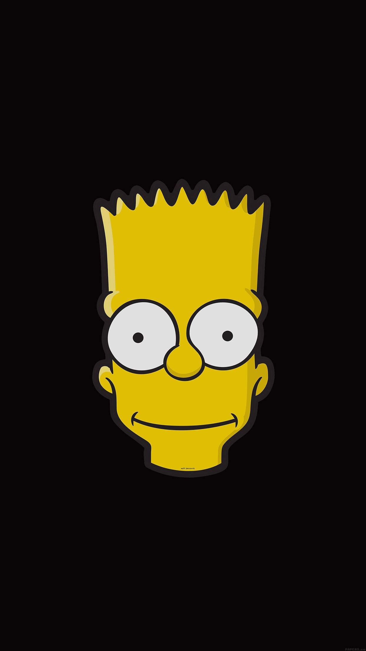 Download Mega Collection Of Cool Iphone Wallpapers Simpson Wallpaper Iphone Bart Simpson Art Simpsons Art