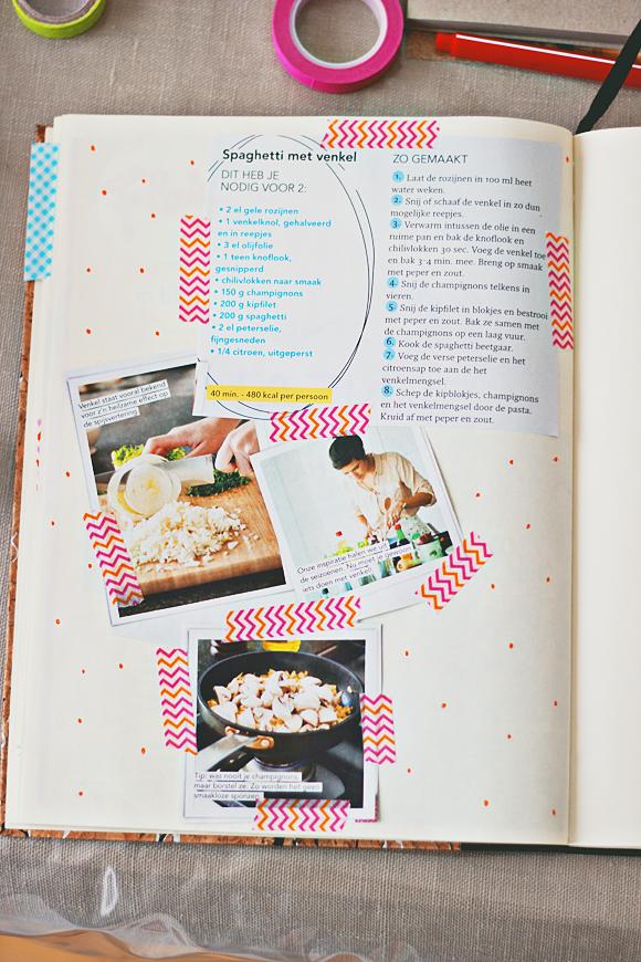 Wonderbaar Maak je eigen receptenboek | Receptenboeken, Boek maken, Knutselen FP-21