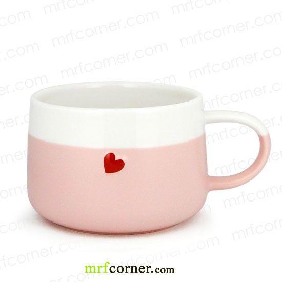 SM101 12oz Starbucks Valentines Day Pink Heart Mug All Things STARBUCKS Pinterest