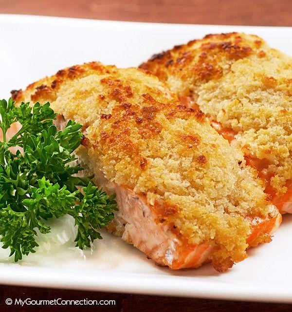recipe: panko horseradish crusted salmon recipe [3]