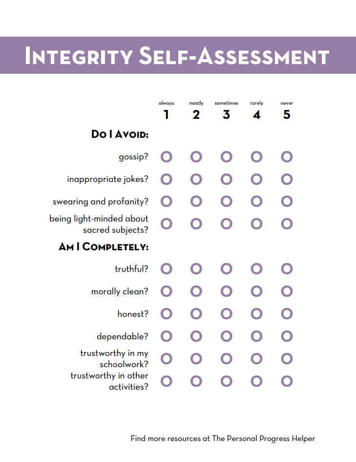 Taste of a Self Assessment Strategies for Writing Your Personal