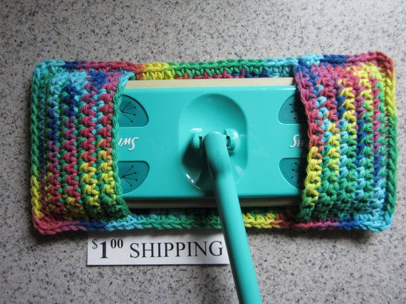Crochet Swiffer Cover Cotton Swiffer Duster By