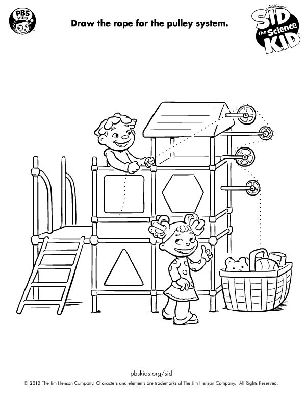 fun way for kids to draw a simple machine