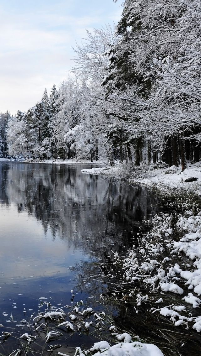 winter lake Winter iPhone wallpapers mobile9 (With