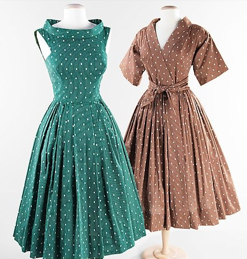 1950 S House Dress Baker S Wife Vintage Outfits Vintage Dresses Costume Collection