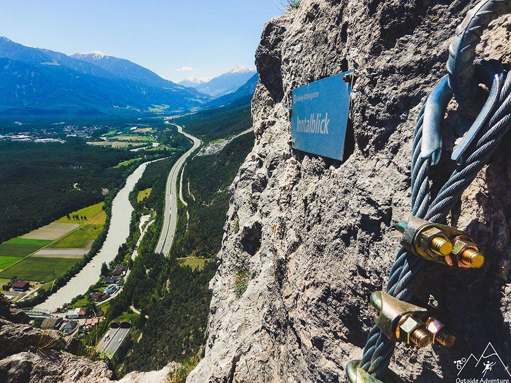 Klettersteig Geierwand : Der geierwand klettersteig punktet mit herrlicher aussicht übers