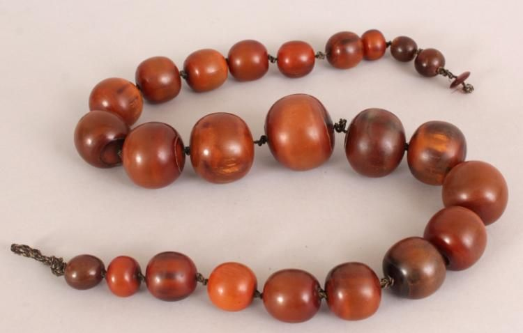 Beads Philippine Assorted Brown Horn Beads 7-12mm